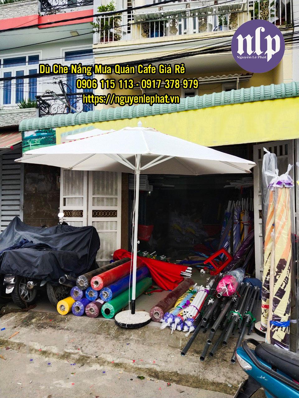 Dù Che Quán Cafe tại Tây Ninh