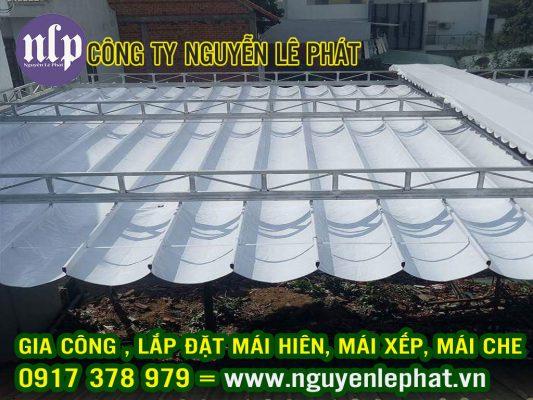 Sửa Chữa, Thay Bạt Mái Hiên Di Động Giá Rẻ tại Hải Phòng, Cung Cấp bạt xếp mái hiên