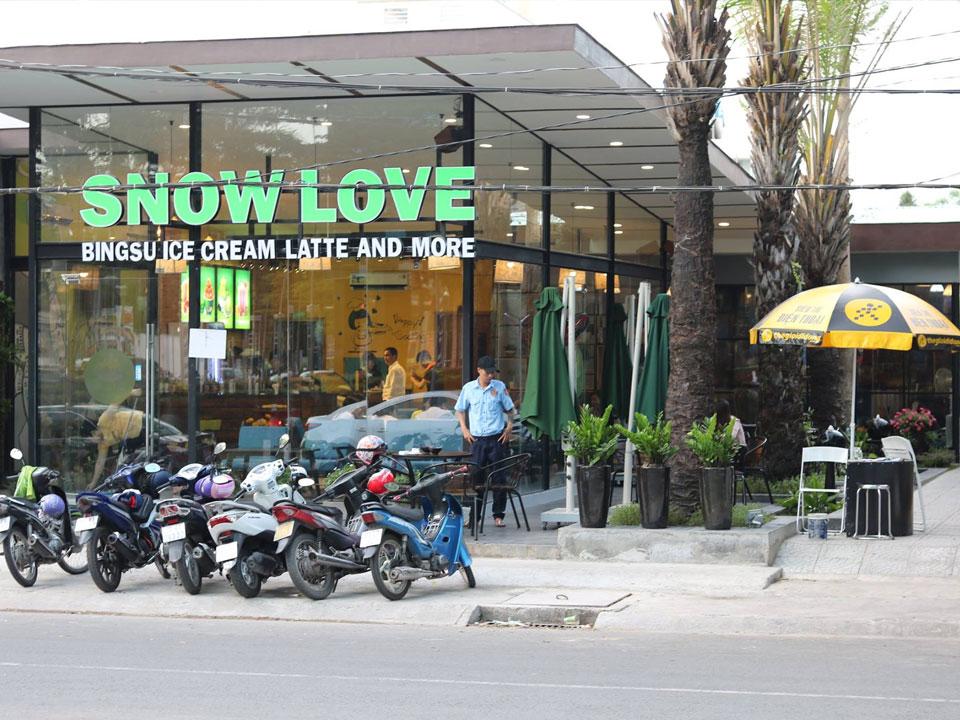 Dù Che Nắng Quán cafe Koi Bình Dương