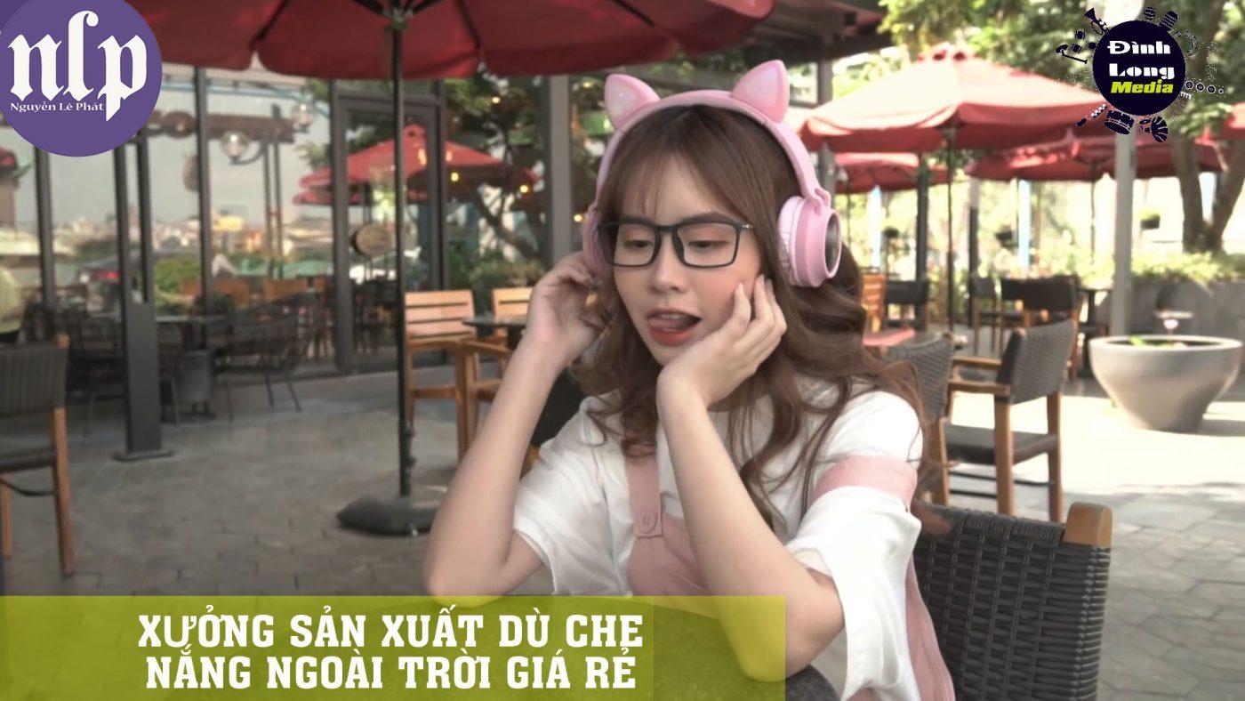 Hot Girl Bán Dù Cafe Dĩ An Bình Dương