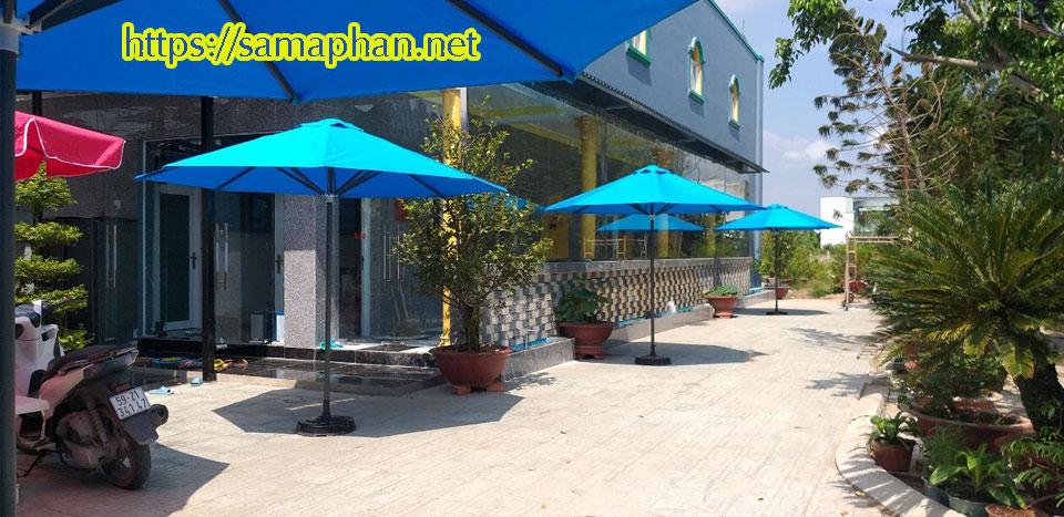 Điểm bán dù che nắng mưa quán cafe tại Biên Hòa Đồng Nai Long THành, Long Khánh Trảng Bom