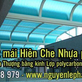 Mái Tôn Bằng Nhựa Poly, Thợ Làm Mái Hiên Che Nắng Poly Giá Rẻ tại Bình Dương
