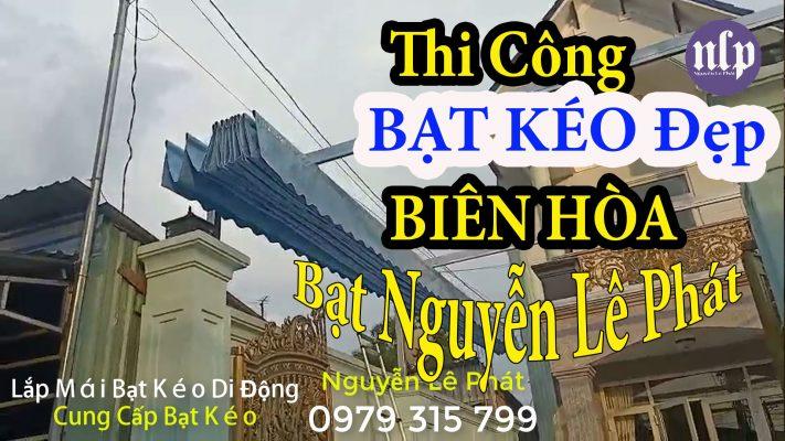 Thi Công Bạt Che Nắng Mưa tại Biên Hòa