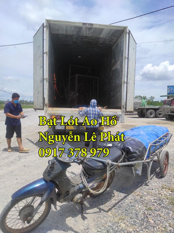 Bạt lót ao hồ nuôi cá chứa nước Đồng Nai