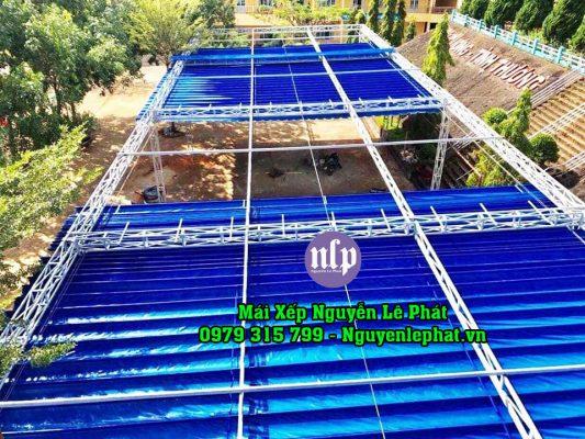 Lắp Đặt Mái Che Di Động Tân Phú, Thi Công Mái Hiên Xếp Tại Quận Tân Phú