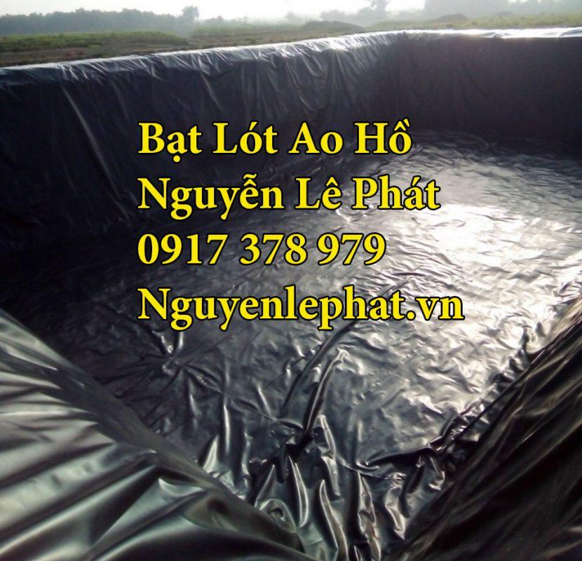 Bạt Lót Hồ Chứa Nước Nuôi Cá tại Long Khánh