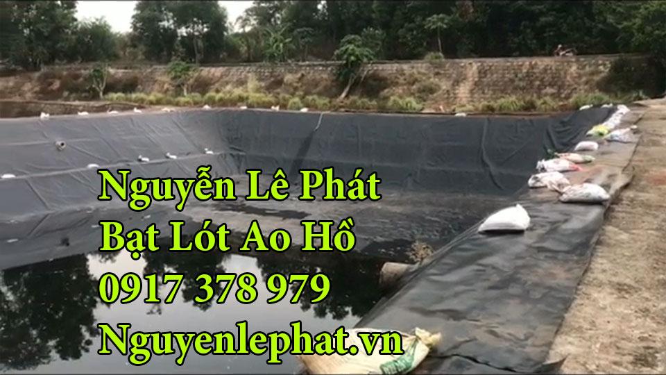 Bạt lót hồ nuôi cá tại Định Quán Xuân Lộc