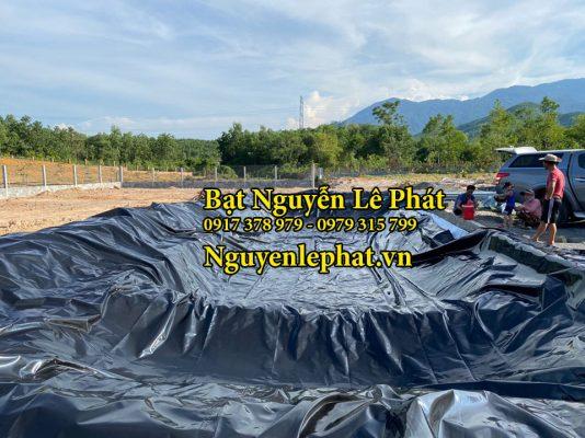 Bạt Lót Hồ Chứa Nước tại Diên Khánh Hòa