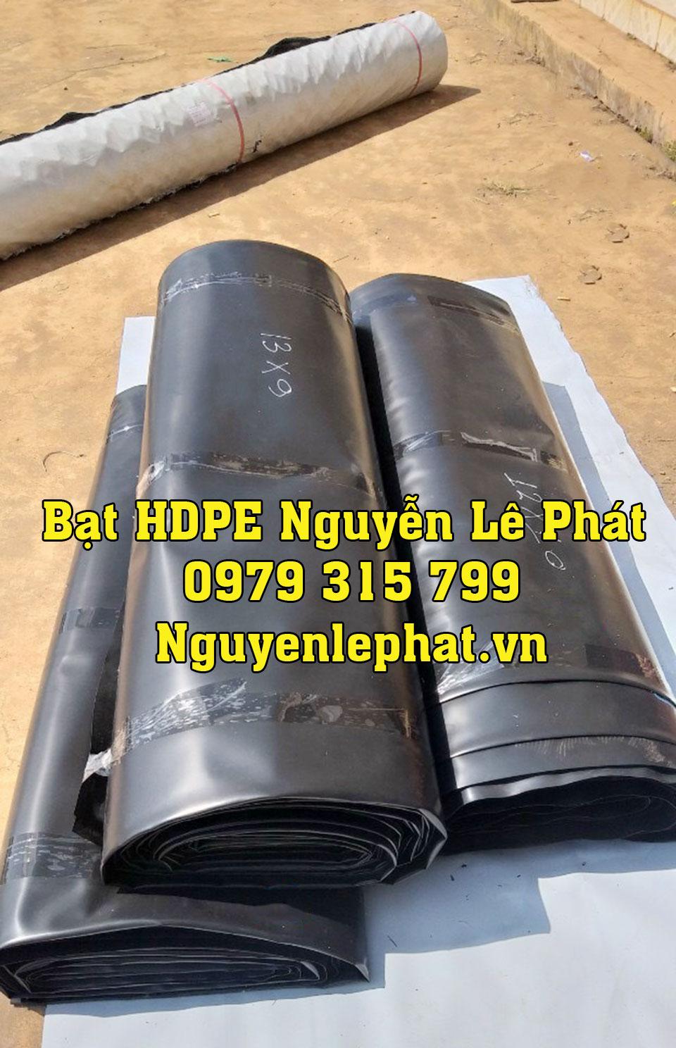 Báo giá bạt nhựa đen 2 mặt HDPE lót hồ nuôi tôm cá chứa