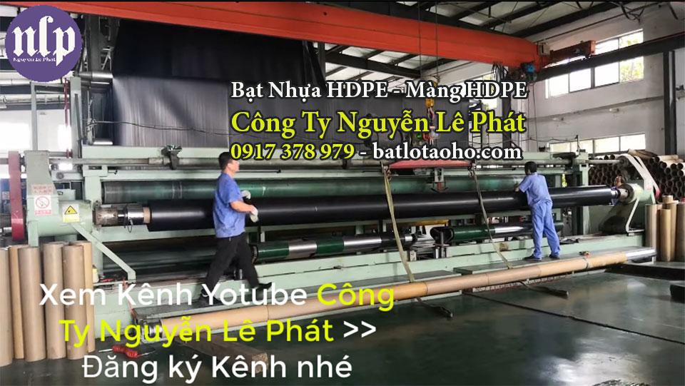 Báo giá bạt lót hồ nuôi cá giá rẻ tại Biên Hòa