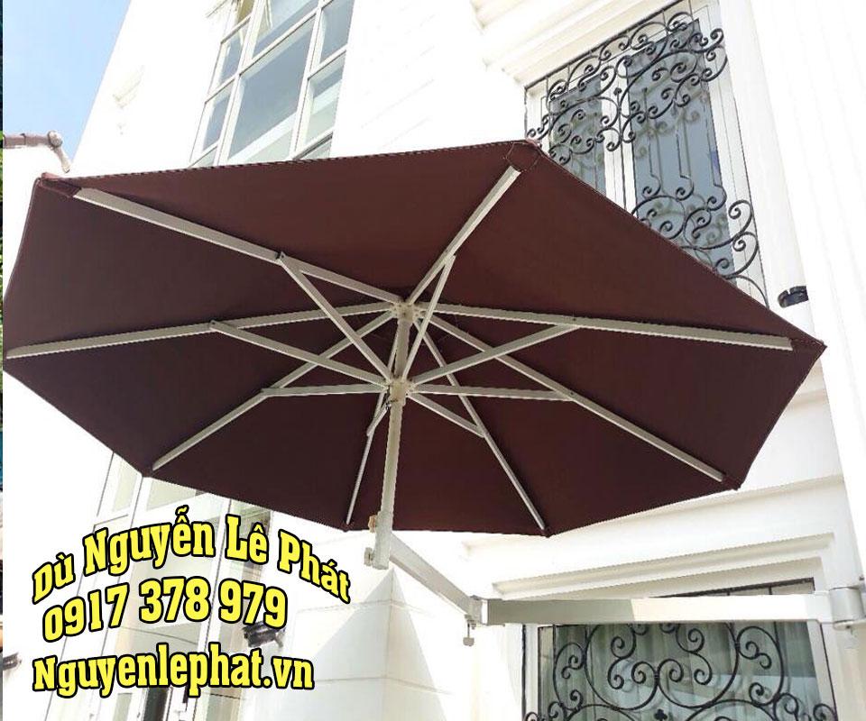 Giá dù che quán cafe thương hiệu Dù Đẹp cho quán cafe tại tphcm