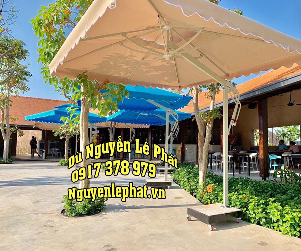Bán dù che nắng quán cà phê giá rẻ tại TPHCM và Toàn quốc, du che quan cafe