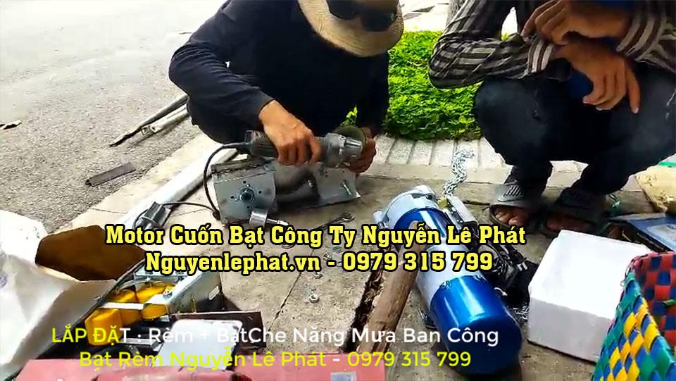 Lắp đặt motor kéo bạt xếp Bình Thuận
