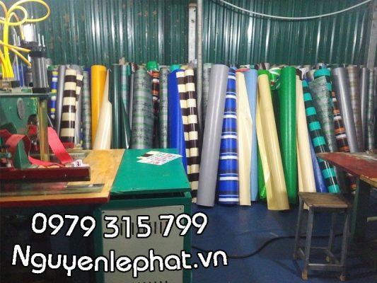 Báo giá bán bạt xếp, may ép vải bạt mái hiên xếp, bạt kéo